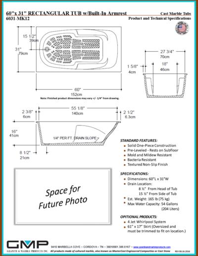 6031-MK12-RT-ARM - Prod & Tech Specs