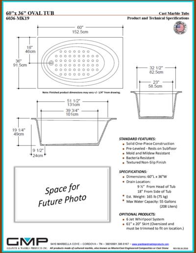 6036-MK19-OVT - Prod & Tech Specs