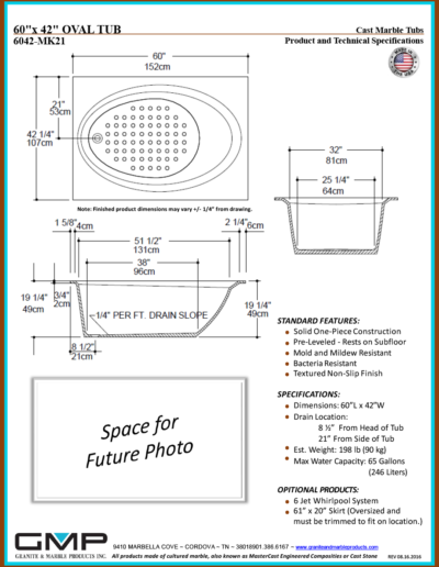 6042-MK21-OVT - Prod & Tech Specs