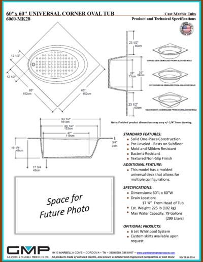 6060-MK28-OVCT-UNI - Prod & Tech Specs