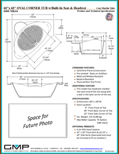 6060-MK44-OVCT-SH - Prod & Tech Specs