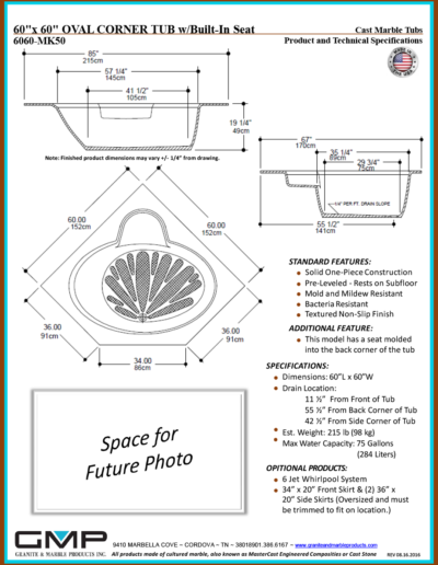 6060-MK50-OVCT - Prod & Tech Specs