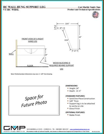 VT-HC-WHSL - Prod & Tech Specs