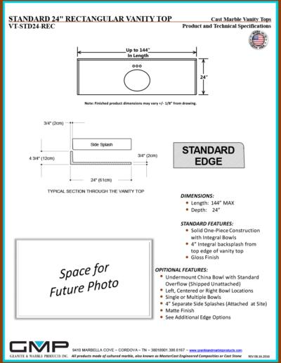 VT-STD24-REC - Prod & Tech Specs